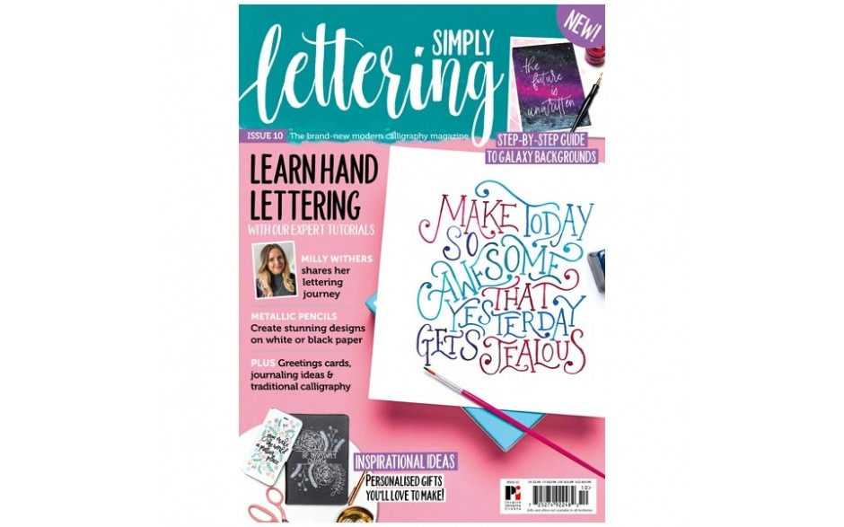 Simply Lettering Magazine issue 10