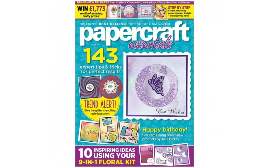 Papercraft Essentials Magazine issue 187