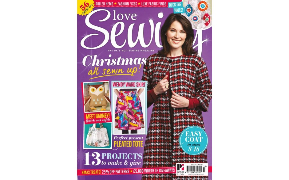 Love Sewing 33 now on sale!
