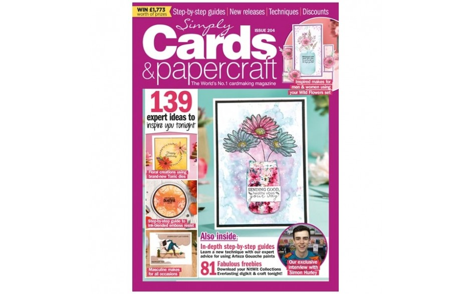 Simply Cards & Papercraft Magazine issue 204