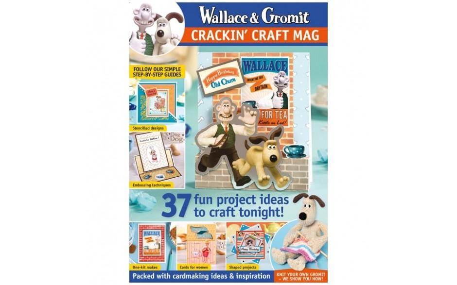 Wallace & Gromit Magazine & Kit #01