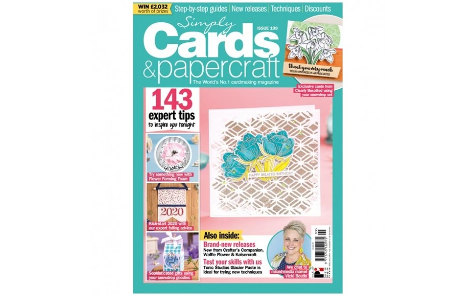 Simply Cards & Papercraft Magazine #199
