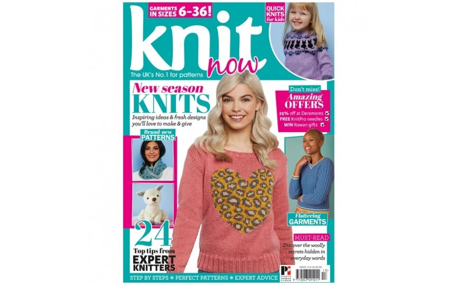 Knit Now Magazine Issue 113