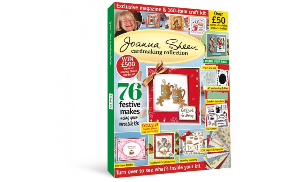 Designer Cardmaking: Joanna Sheen Special 2 - NOW ON SALE