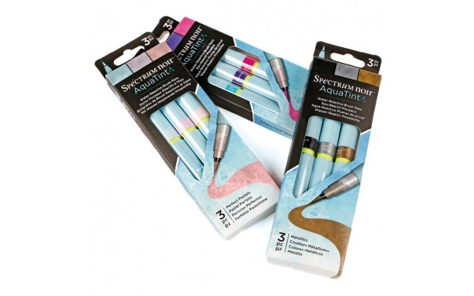 Spectrum Noir Aquatint Pen Bundle - 3 Packs