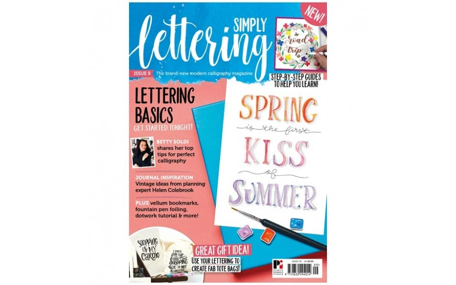Simply Lettering Magazine issue 09