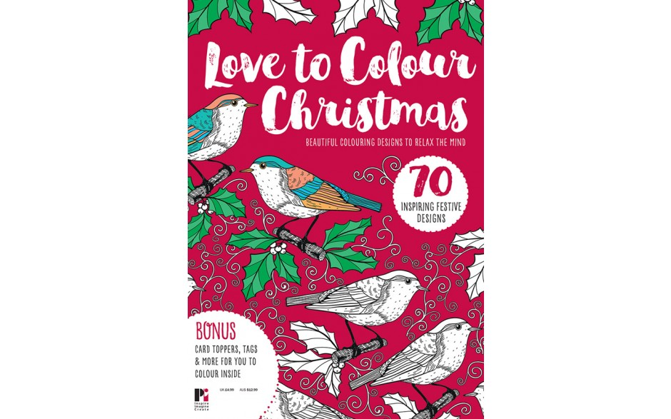 Love to Colour Christmas