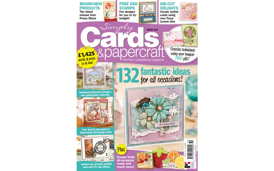 Simply Cards & Papercraft 151
