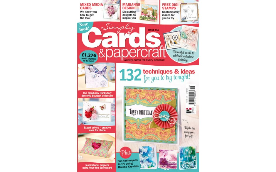 Simply Cards and Papercraft 136 cover