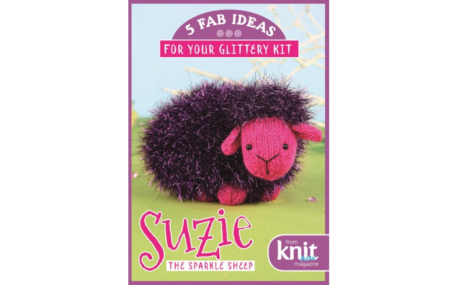 Issue 69 - FREE Suzie the Sparkle Sheep kit PLUS 5 bonus ideas for your glittery yarn