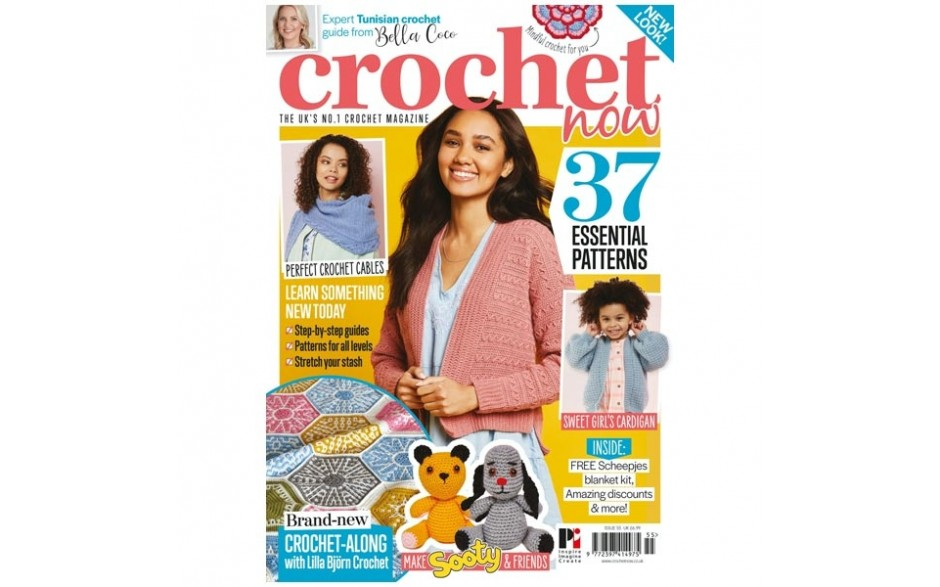 Crochet Now Magazine issue 55