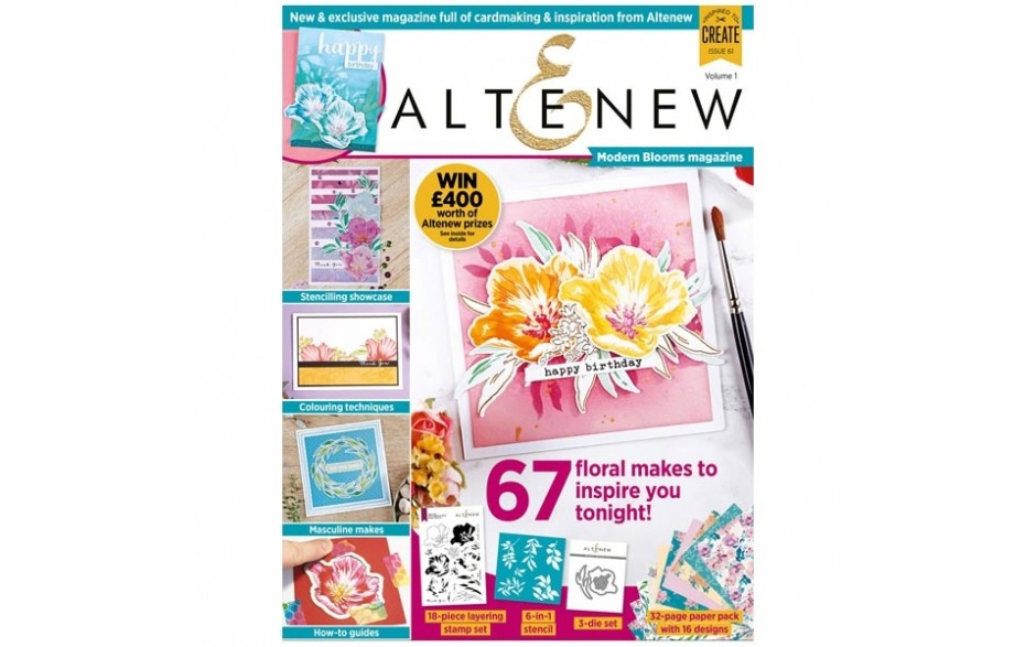 Altenew Magazine & Kit #01
