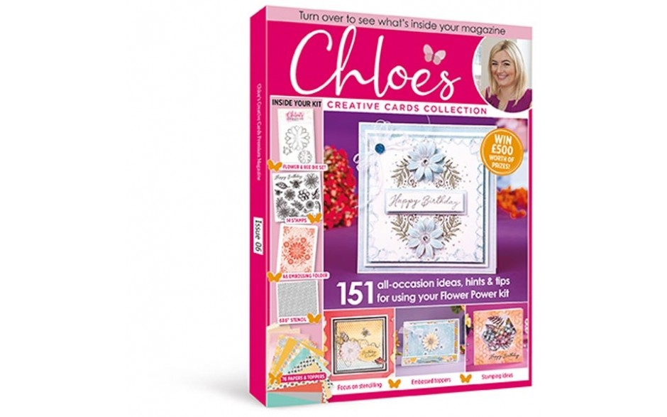 Stamps by Chloe Cardmaking Collection Magazine Issue 06