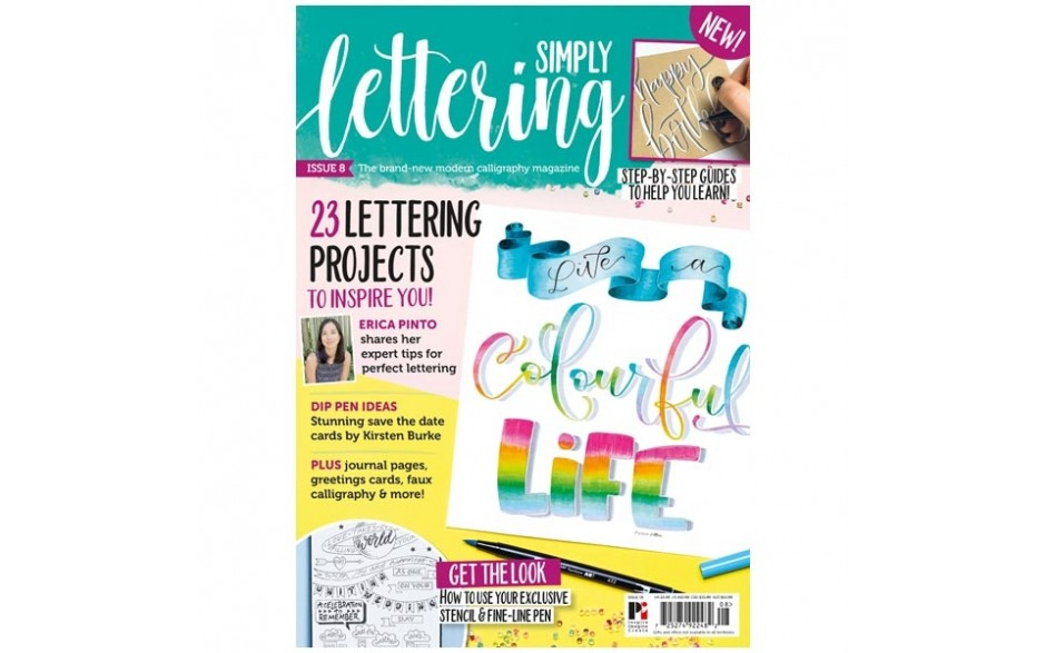 Simply Lettering Magazine Issue 08