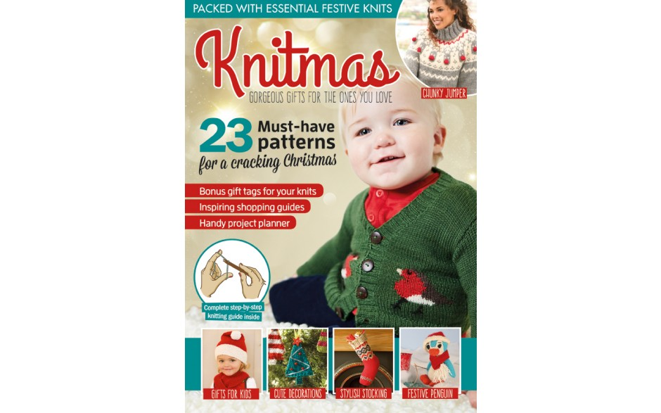 Knit Now issue 65 now on sale - FREE exclusive Knitmas book inside!