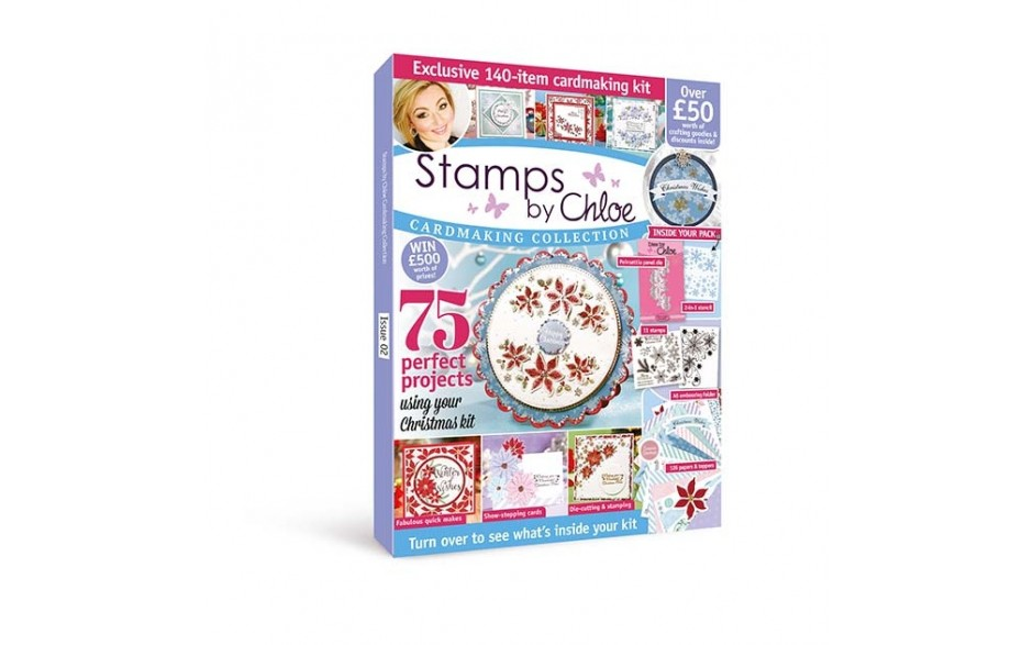Stamps by Chloe Cardmaking Collection Magazine & Kit 2