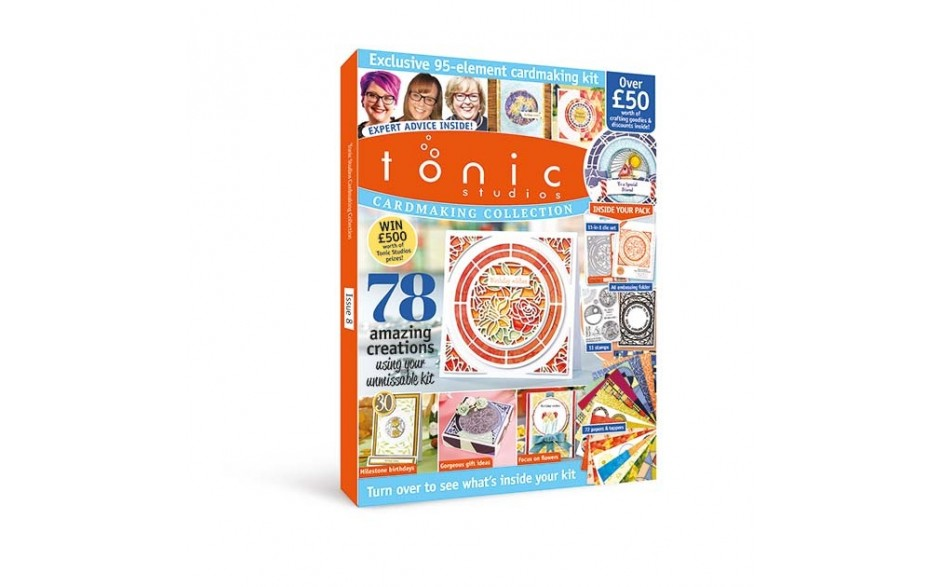 Tonic Studios Design Collection Magazine & Kit 8