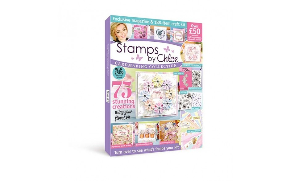 Stamps by Chloe Cardmaking Collection Magazine & Kit 3
