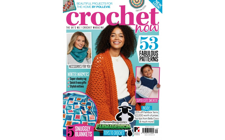 3 issues of Crochet Now for £6!