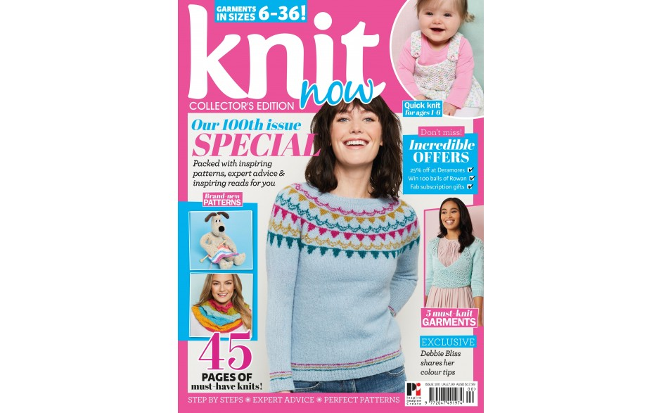 Knit Now issue 100