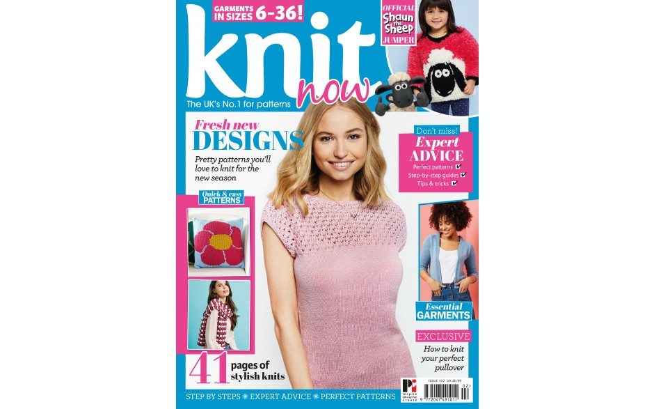 Knit Now issue 102