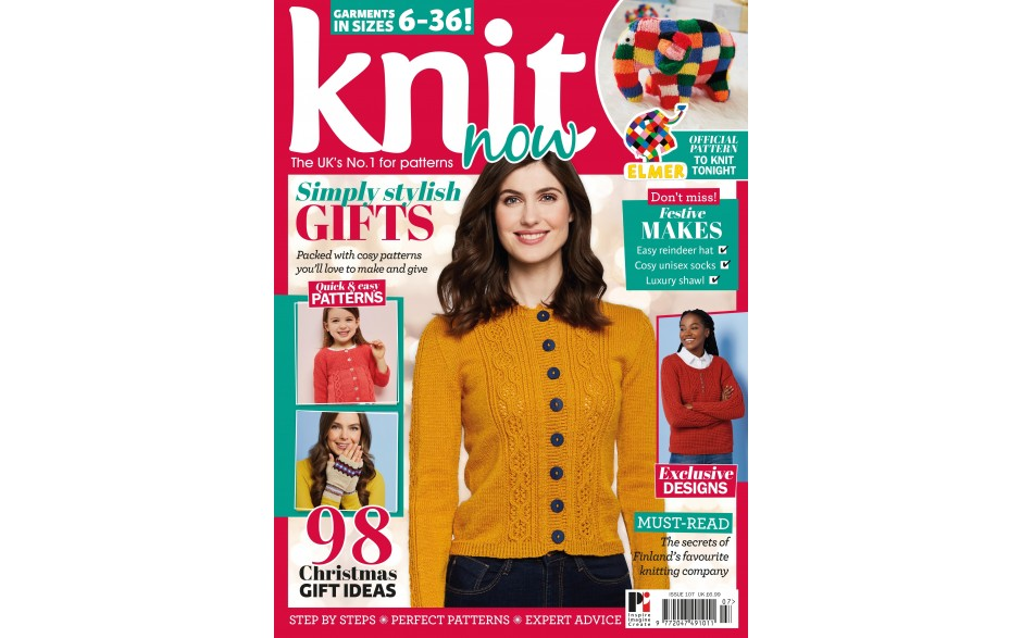 Knit Now issue 107