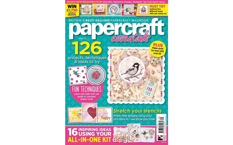 Papercraft Essentials Issue 175