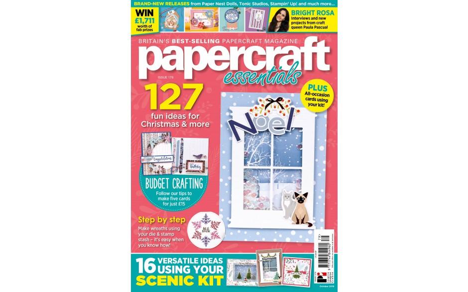 Papercraft Essentials Issue 179