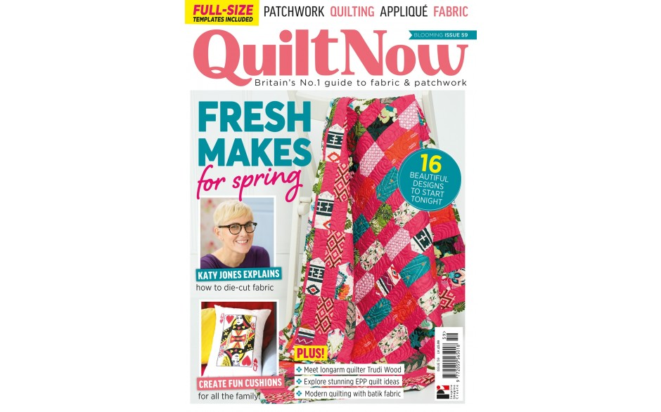 Quilt Now issue 59