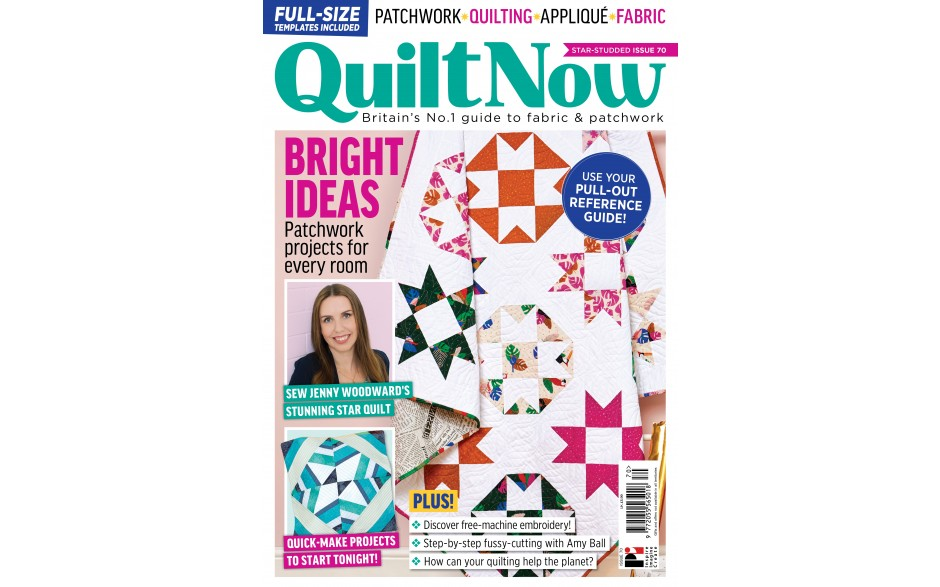 3 issues of Quilt Now for £6!