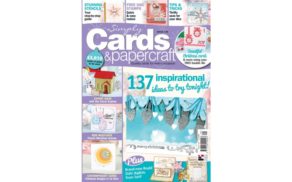Simply Cards & Papercraft 129