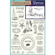 Creative Stamping 43 comes complete with a stunning Sea View collection including fabulous designs from Sheena Douglass!