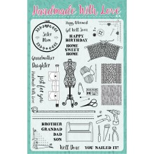 Creative Stamping 40 - FREE Handmade With Love stamp set!