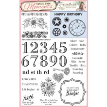Creative Stamping 44 + FREE Timeless Moments stamp set including fabulous designs from Sara Davies
