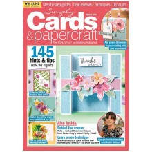 Simply Cards & Papercraft Magazine Issue 206
