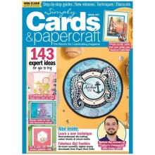 Simply Cards & Papercraft Magazine issue 207