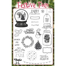 Creative Stamping issue 34 on sale now with FREE Festive Fun stamp set