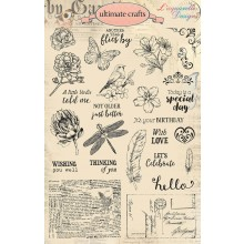 Creative Stamping 41 comes complete with a fabulous FREE Ultimate Crafts L'aquarelly Designs stamp set over 25 designs!