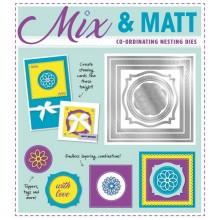 Die-cutting Essentials 23 - FREE Mix & Matt 6-piece nesting dies