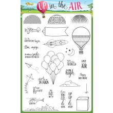 Creative Stamping issue 33 on sale now - FREE biggest-ever stamp set - up in the Air collection!