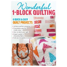 Quilt Now issue 28 now on sale - FREE One Block Quilting book by Choly Knight