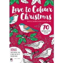 Love to Colour Christmas