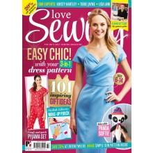Love Sewing issue 32 - includes FREE Threadcount 3-in-1 dress pack
