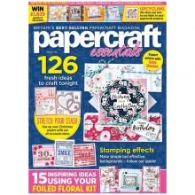 Papercraft Essentials Magazine Issue 184