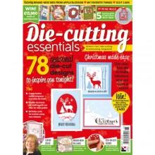 Die-cutting Essentials issue 15 now on sale - FREE Winter Woodland scene die inside!