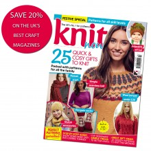 Subscribe to Knit Now - SAVE 20%