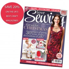 Subscribe to Love Sewing - SAVE 20%