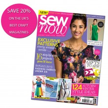 Subscribe to Sew Now - SAVE 20%